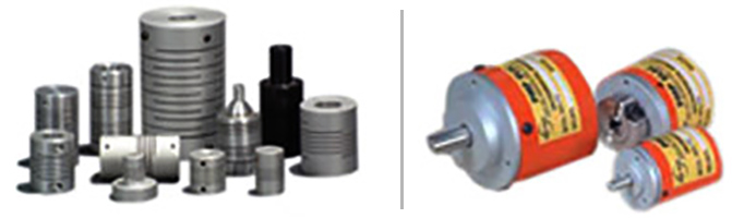 Incremental Shaft Encoders & Couplings